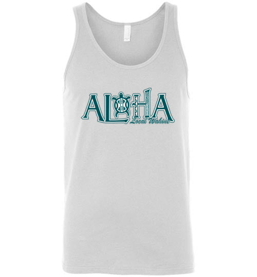 Bad Tuna T-shirt Co. LW253T ALOHA HONU TANK TOP local wahine