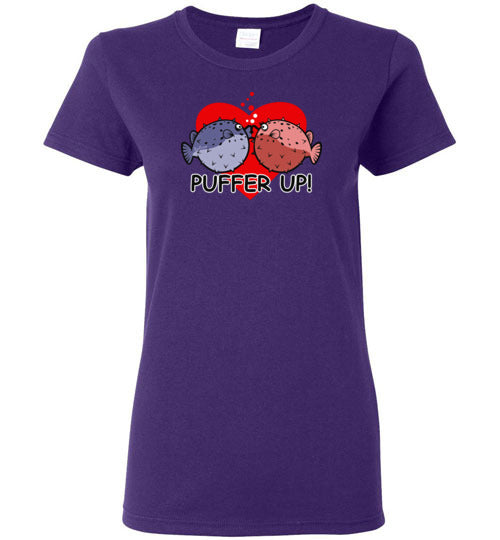 PUFFER UP FOR VALENTINE'S DAY T-SHIRT