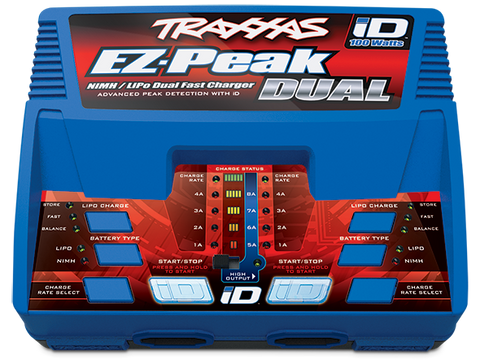 Traxxas EZ Peak Dual ID Battery Charger 2972