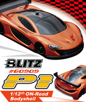 Blitz P1 1/12 On-Road Sport Car Body 60909
