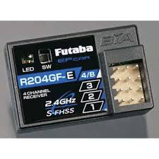 Futaba  S-FHSS-2.4GHZ 4-Channel Receiver R204GF-E