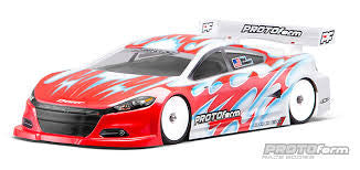 Protoform 2014 Dodge Dart Light Weight Clear Body 1541-25