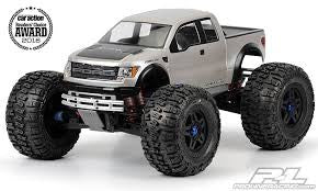 Pro-Line Ford F-150 Raptor Clear Body For Revo 3.3 and T-Maxx 3.3 334500
