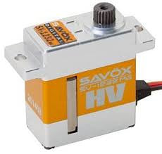 Savox HV Approved 7.4V Servo 1260MG