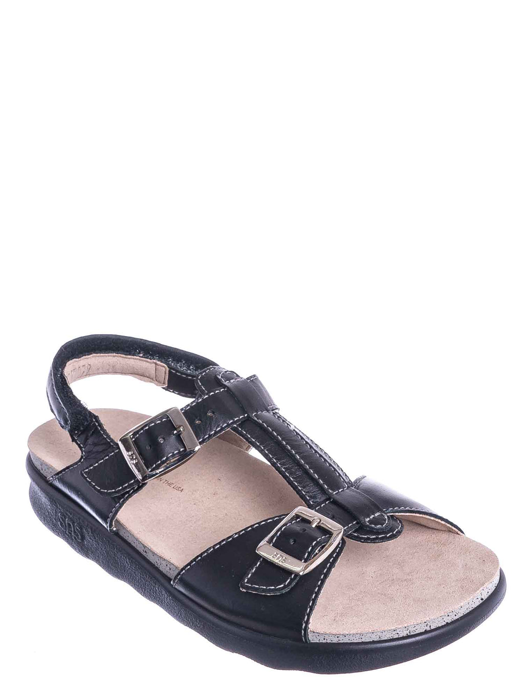 SAS Shoes - Captiva T Strap Molded Footbed Sandal - Women Slingback Comfortable Foam Shoe