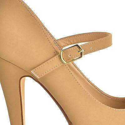 Realove07Y By Anne Michelle, Mary Jane Platform High Stiletto Heel Pump Sandal