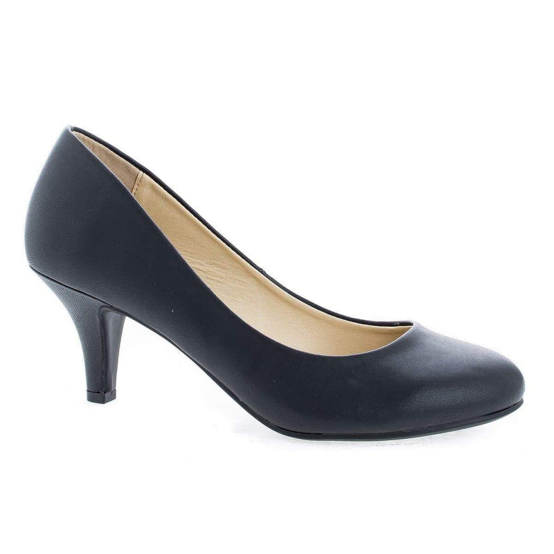 Carlos By Aquapillar, Round Toe Extra Comfort Classic Pumps