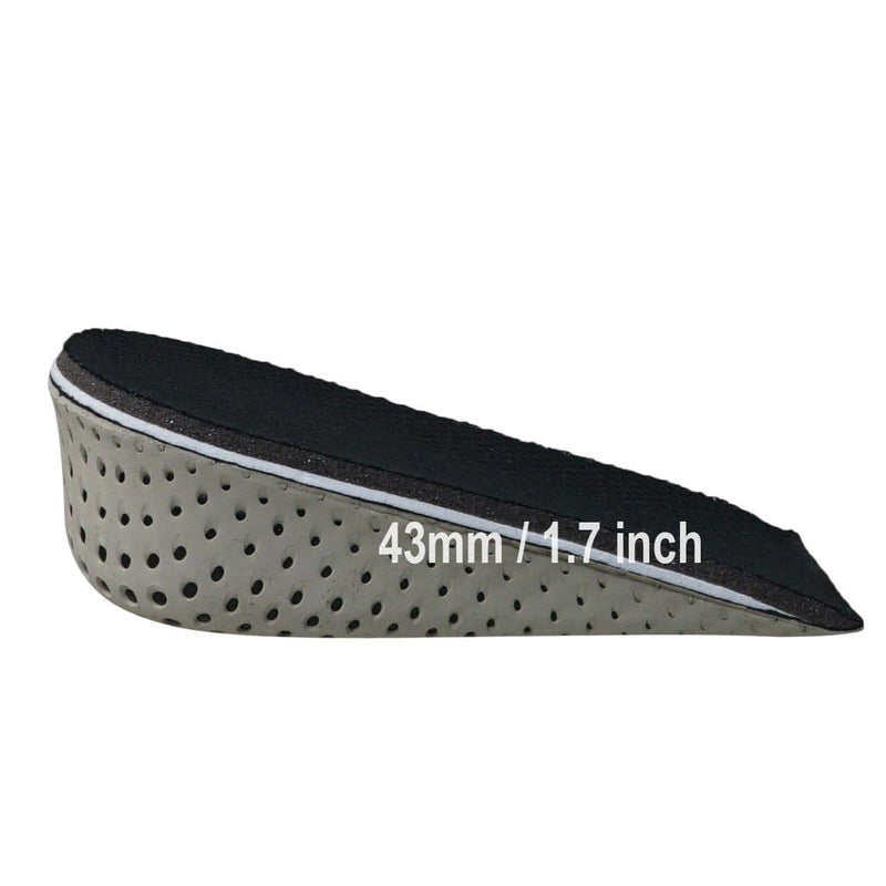 Unisex height Lift Inserts, Hidden Wedge Cushion For Shoes, Heel Cups