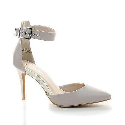 Casper01 By Bamboo, D'Orsay Pointy Toe Ankle Cuff Stiletto Heel Pumps