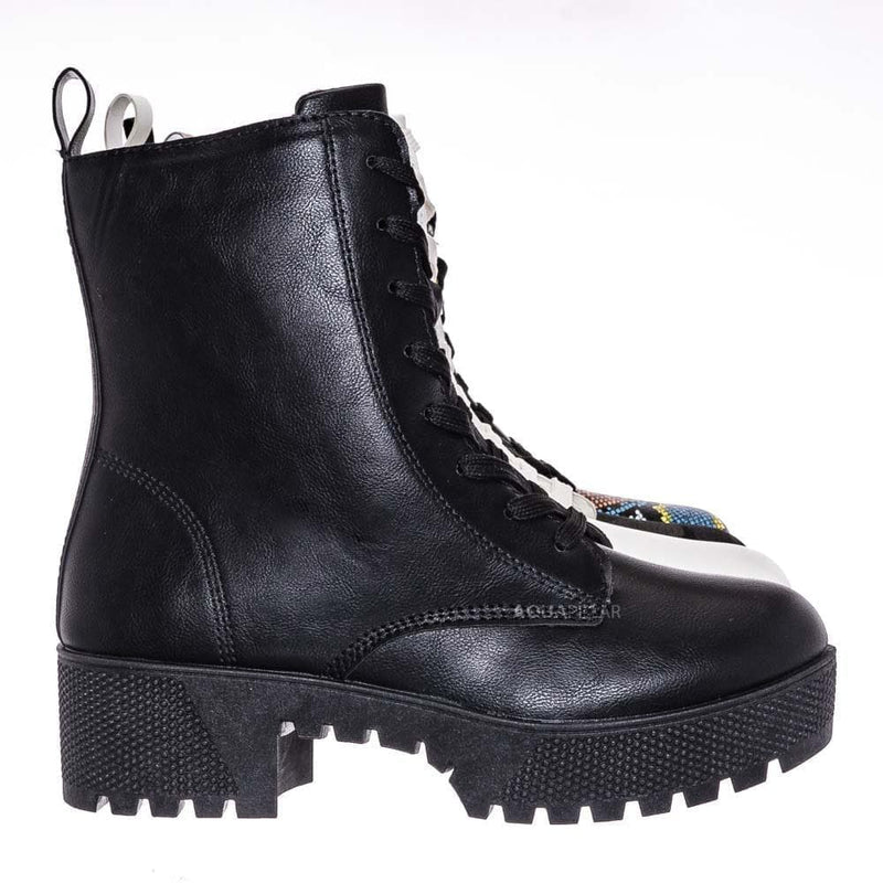 Powerful47 Fashion Combat Boots