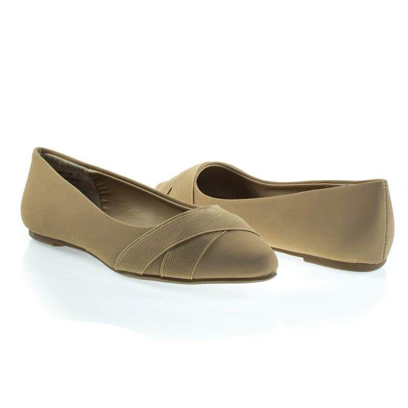 Sequel75M By Bamboo, Pointy Toe Flat Pump w Matching Straps