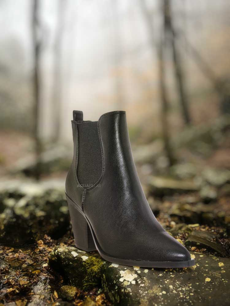 Upstream07 High Block Heel Chelsea Boots