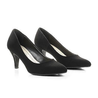 James By City Classified, Pointy Toe Classic Dress Low Heel Pumps