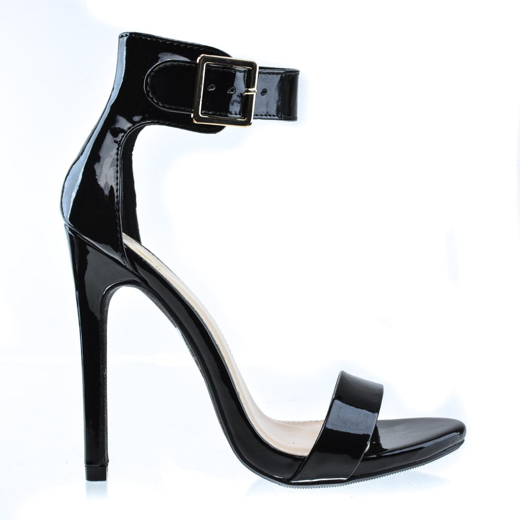 Canter By Delicious, Women's Single Sole Ankle Strap High Heels