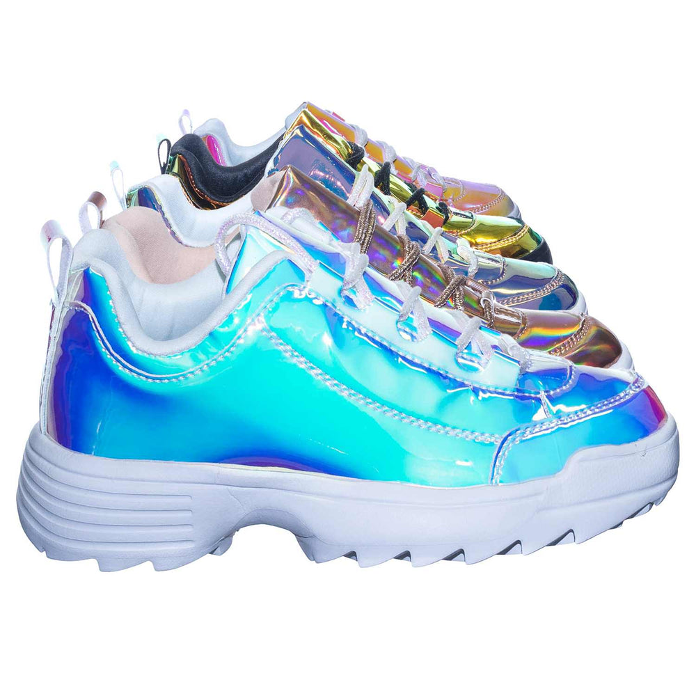Holographic Sneaker Thank You Cards