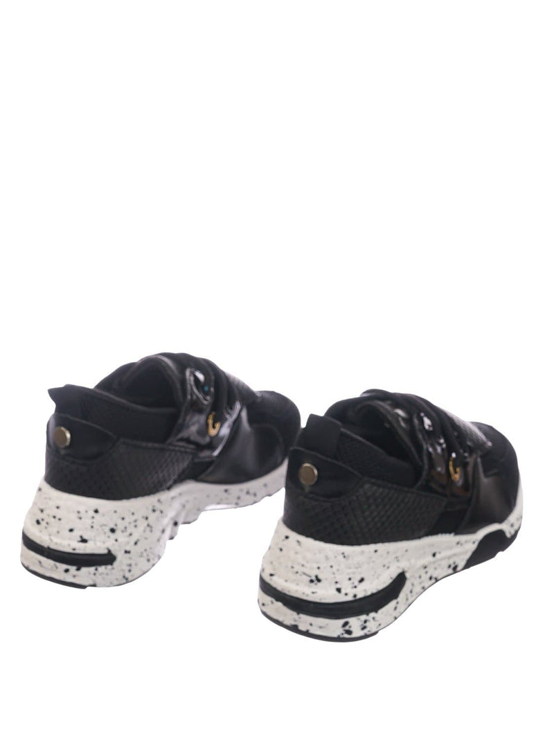Black Snake / Galaxy01K Black Snake Kids Unisex Multicolor Trainer - Children Color Paneled Chunky Sneaker