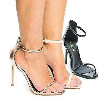 Angelica1 By Liliana, Women's High Heel Strappy Sandal