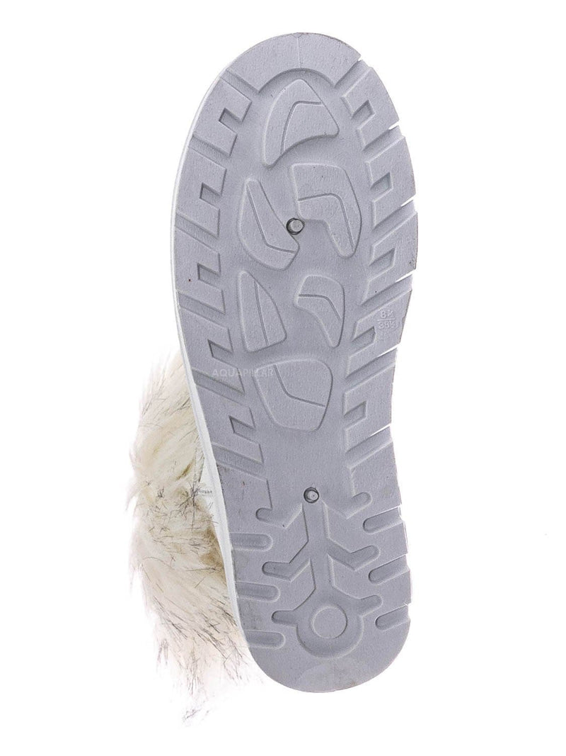White / Frozen01 Asymmetrical Faux Fur Mukluks - Womens Winter Cozy Boots