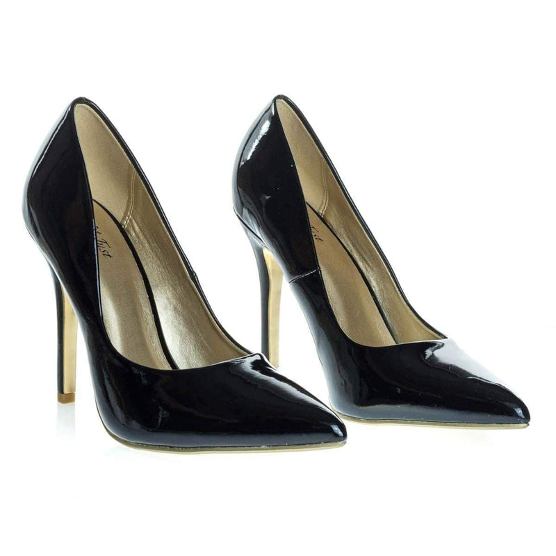 Doll Classic High Stiletto Heel Pump w Pointed Toe