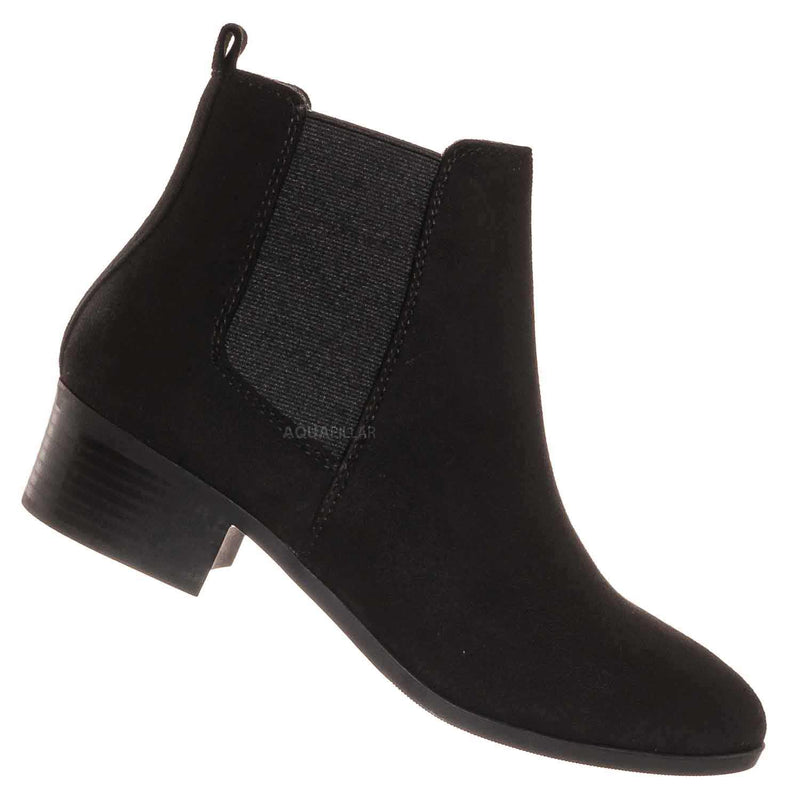 Teapot Chelsea Ankle Bootie On Chunky Block Heel