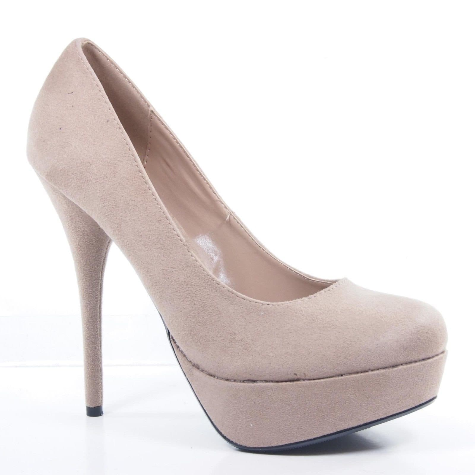 Jones By Delicious, Almond Toe Platform Stiletto Dress Formal Dance Special High Heel