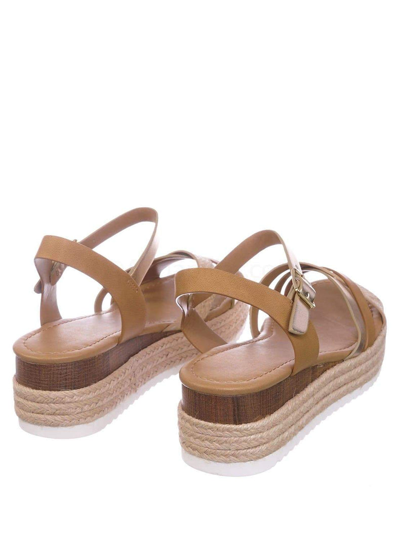 Snake Multi Natural Beige / Anita SnkMulNat Espadrille Flatform Wedge Sandal - Color Combo Sharktooth Open Toe Shoe