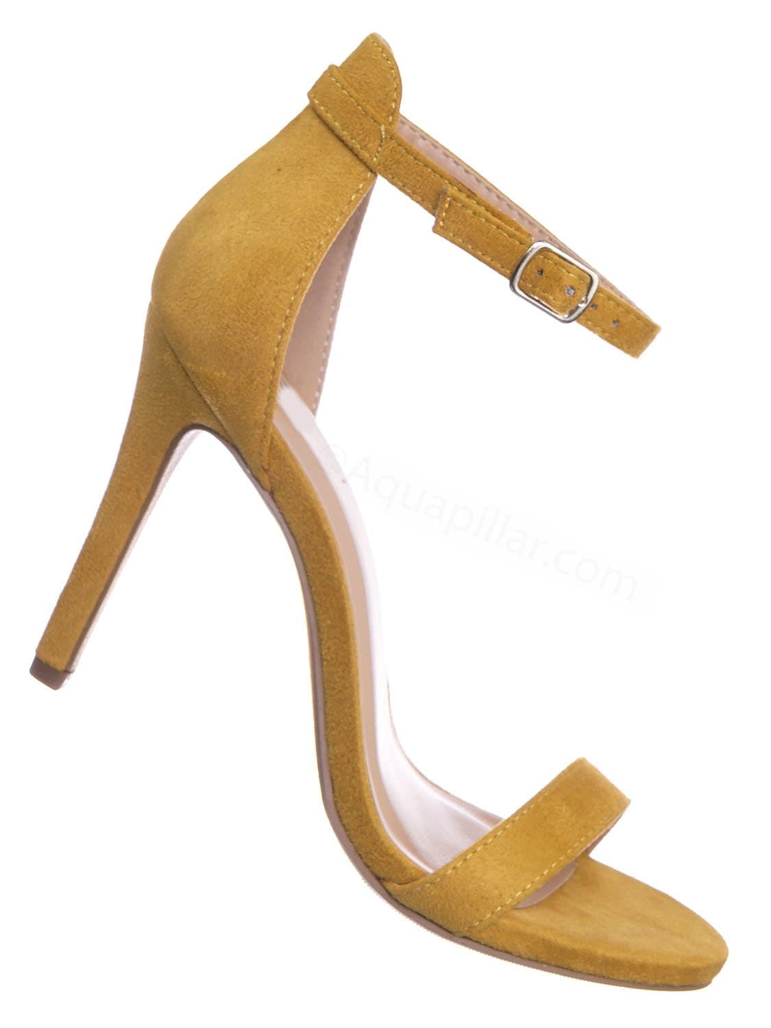 Tyrell MusIsu Classic Womens Open Toe High Heel Dress Sandal w Adjustable Ankle Strap