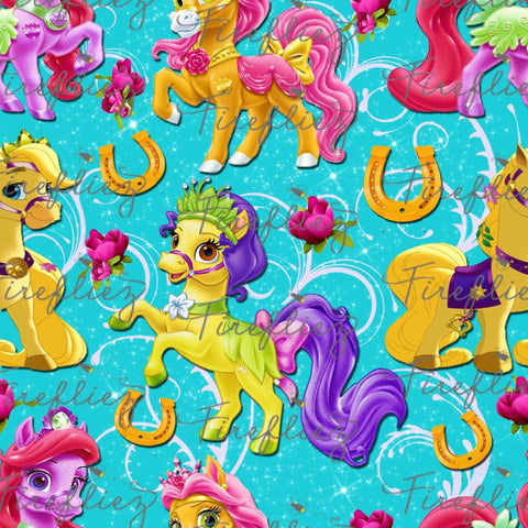 Palace Friends Fabric ...ponies...