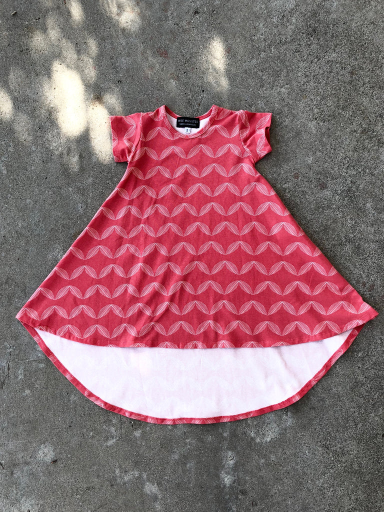 red braids or waves dress for girl, kids clothes, girls clothes, dresses for girls