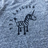 99% Unicorn Heather Grey Short Sleeve Hi-Lo Dress