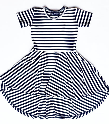 stripe dress for toddler girl, kids clothes, girls clothes, dresses for girls