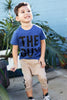 The Guy Heather Blue Graphic Tee