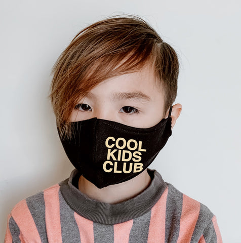 Cool Kids Club - Kids Face Masks - Unisex for Boys and Girls