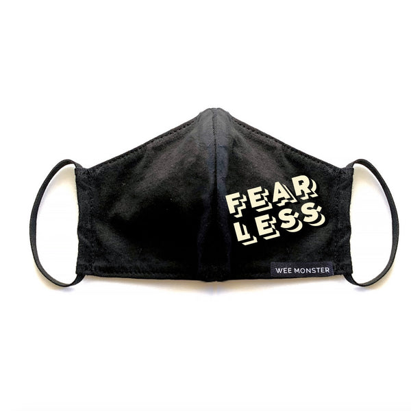 FEARLESS - Kids Face Masks - Unisex for Boys and Girls