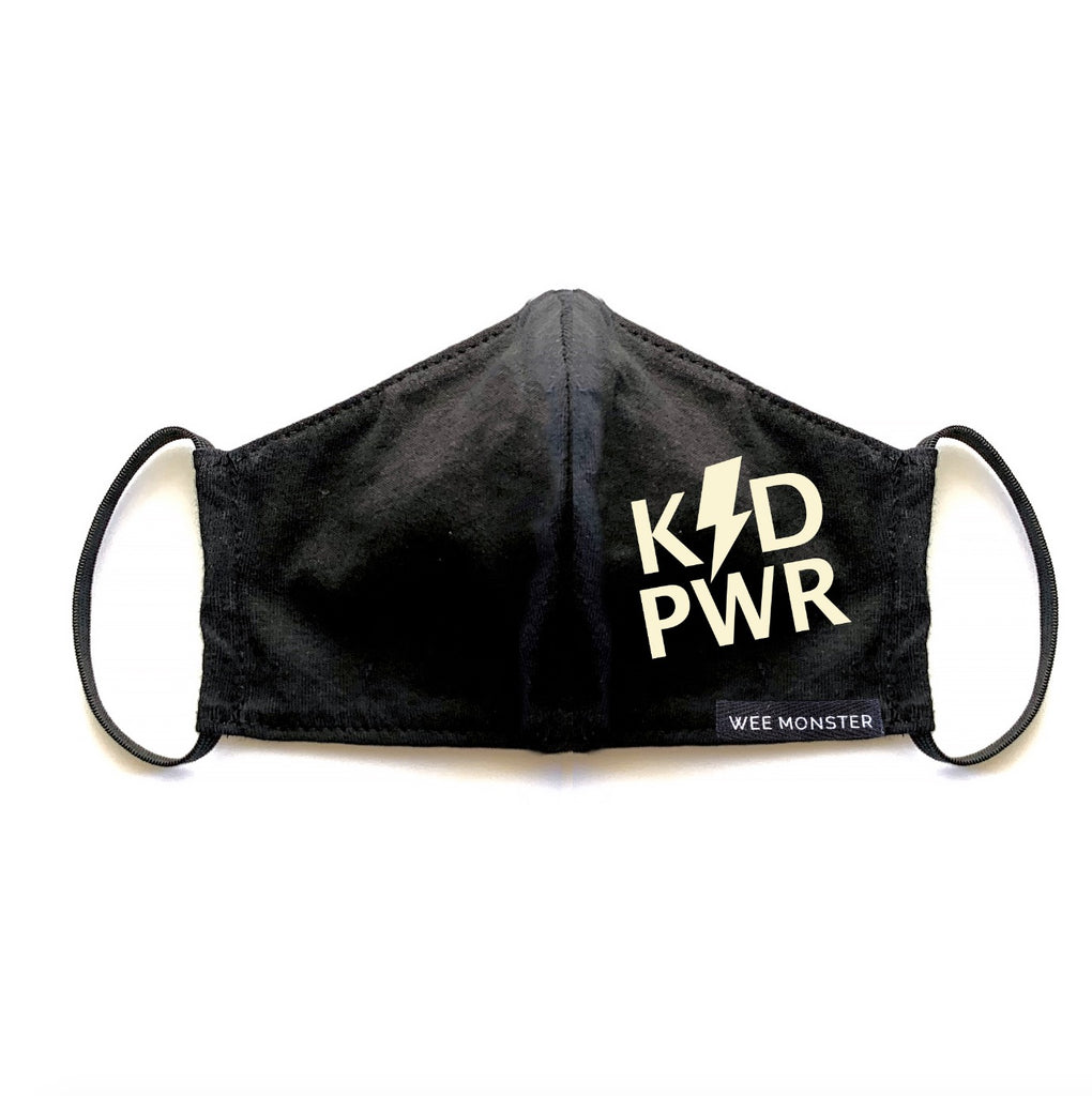 KID PWR - Adult Face Masks - Unisex for Men and Women