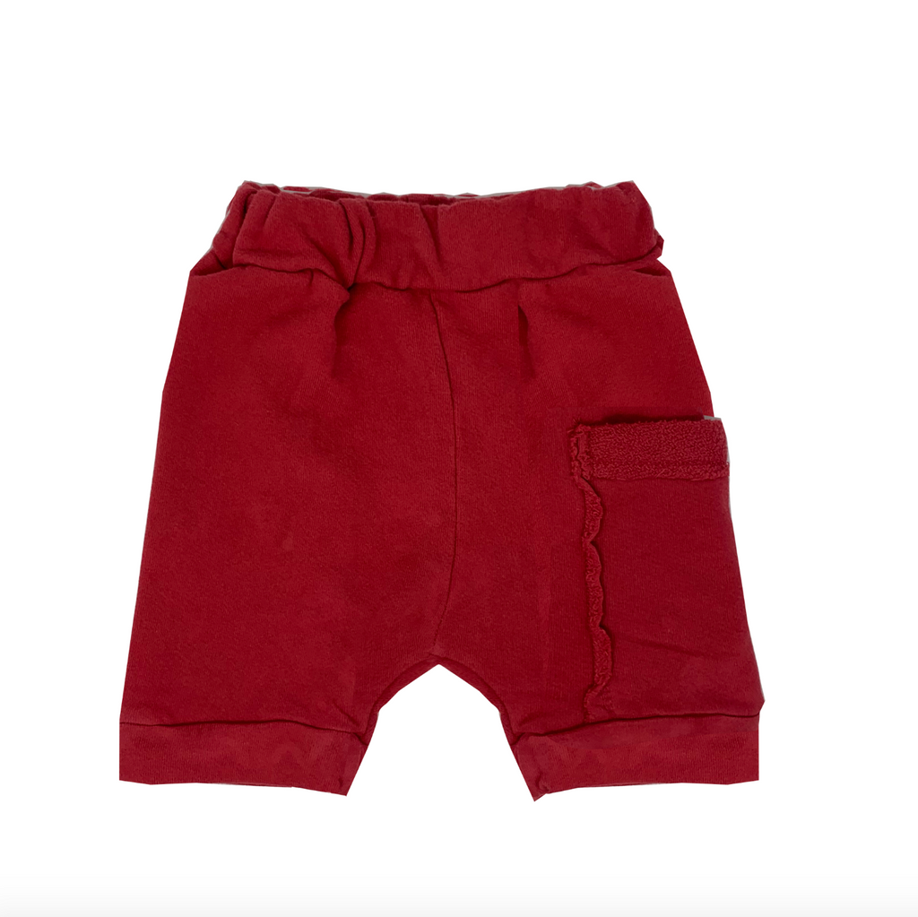Red Harem Shorts - Unisex for Boys and Girls