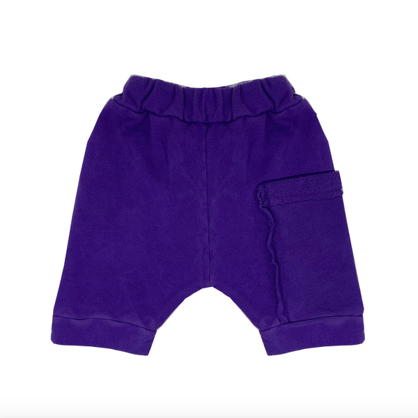 Grape Juice Harem Shorts - Unisex for Boys and Girls