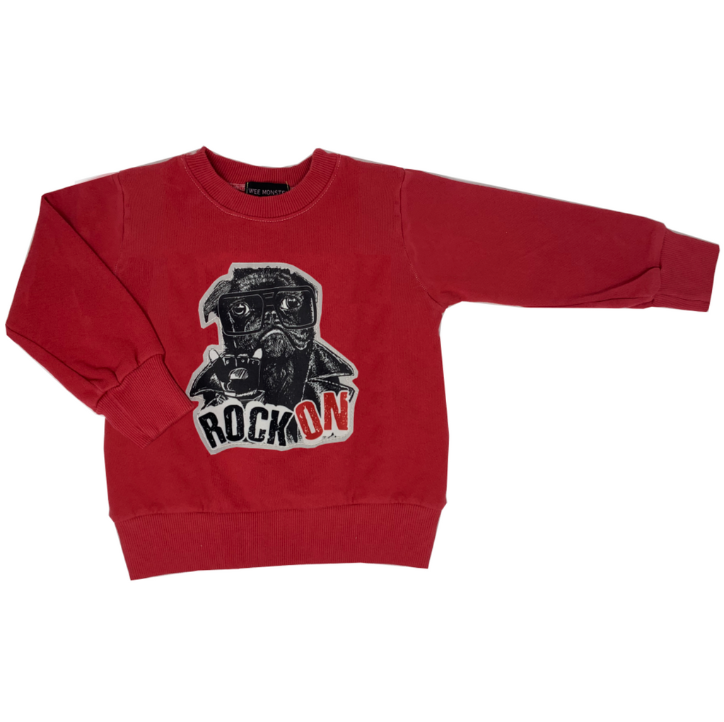Arnold Red Sweatshirt - Unisex for Boys and Girls