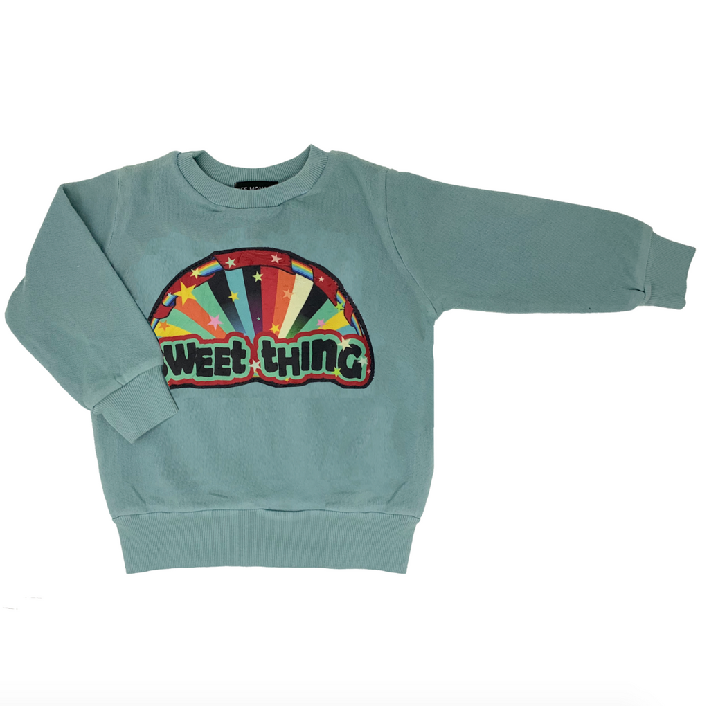 Sweet Thing Blue Sweatshirt - Unisex for Boys and Girls