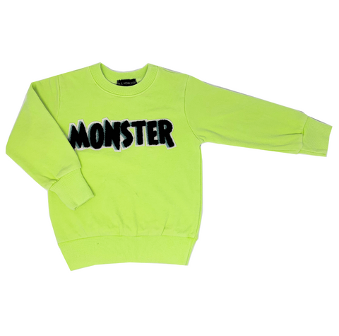 MONSTER Neon Sweatshirt - Unisex for Boys and Girls
