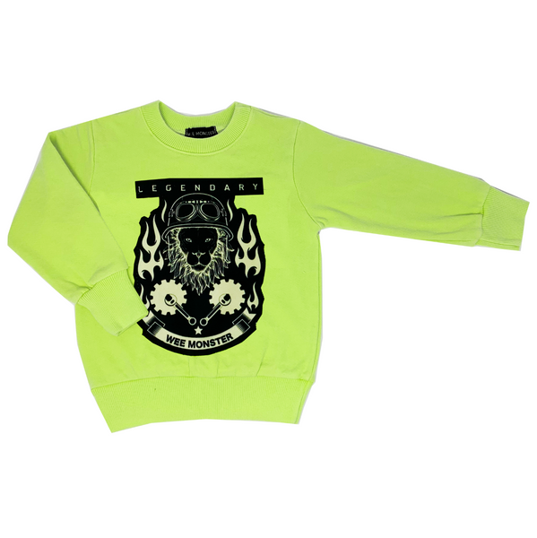 Legendary Neon Sweatshirt - Unisex for Boys and Girls