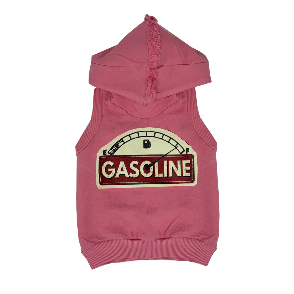 Gasoline Pink Hoodie Vest - Unisex for Boys and Girls