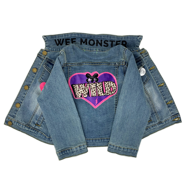 Wild Denim Jacket - Unisex for Boys and Girls
