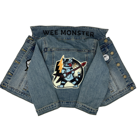 Thundercat Denim Jacket - Unisex for Boys and Girls