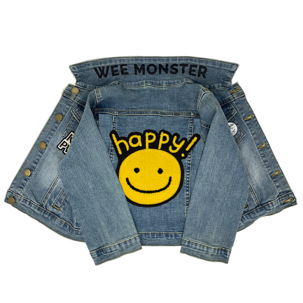 Happy Denim Jacket - Unisex for Boys and Girls