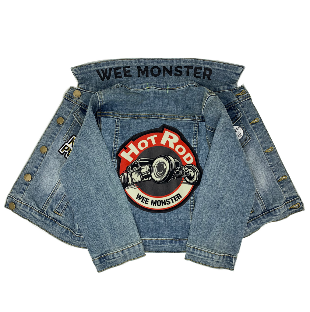Hot Rod Denim Jacket - Unisex for Boys and Girls