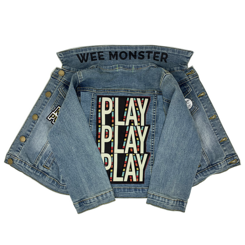PLAY Denim Jacket - Unisex for Boys and Girls