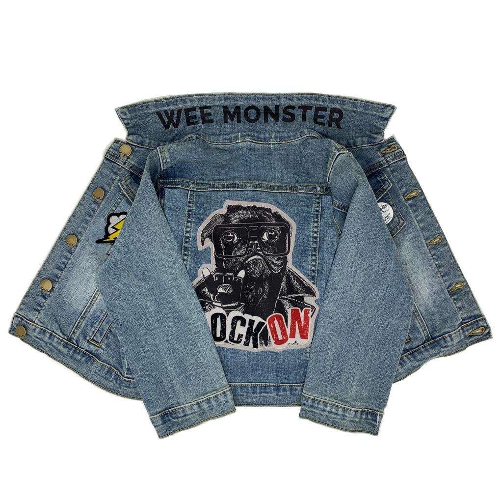 Arnold Denim Jacket - Unisex for Boys and Girls