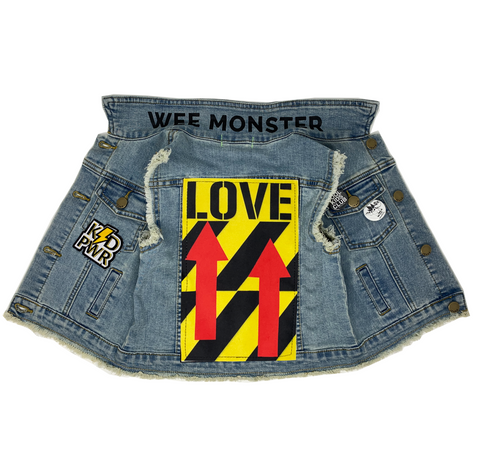 LOVE Denim Vest - Unisex for Boys and Girls