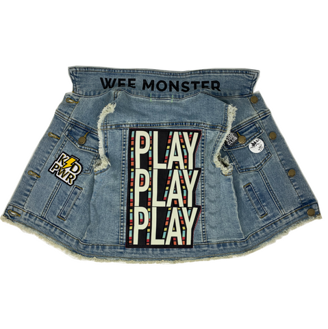 PLAY Denim Vest - Unisex for Boys and Girls